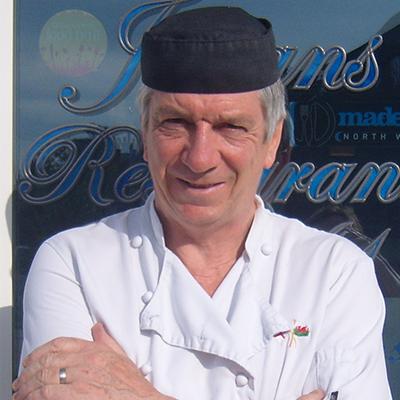 Julian Davies of Julian's Restaurant Hoylake Wirral