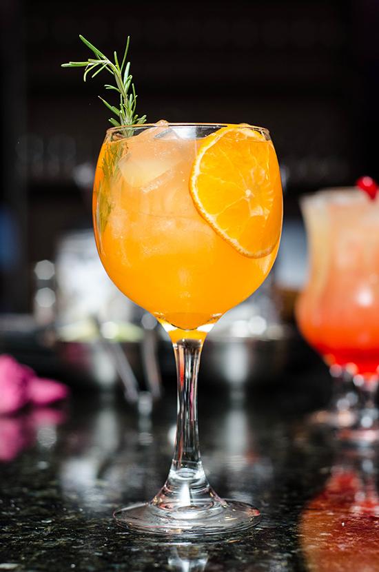 Bar drinks menu at Julian's Restaurant Hoylake Wirral