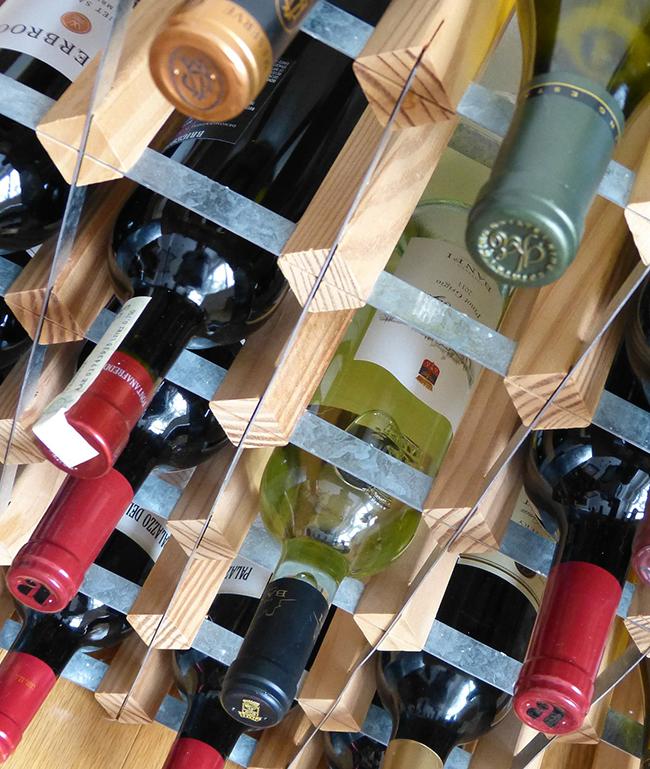 Wine menu wine list at Julian's Restaurant Hoylake Wirral