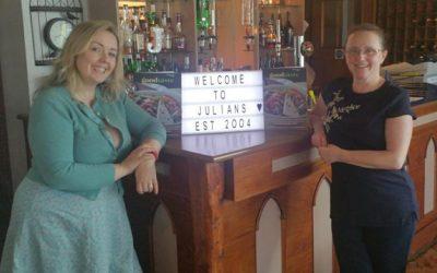 Jackie Davies of Julian's Restaurant in Foodie Power List